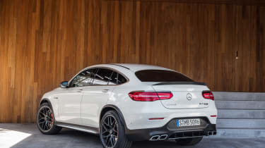 Mercedes-AMG GLC 63 Coupe rear
