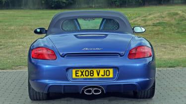 Used Porsche Boxster - full rear