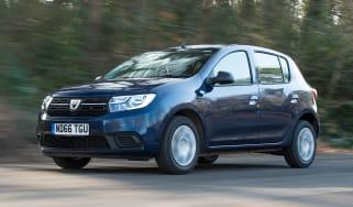 Dacia Sandero facelift - front