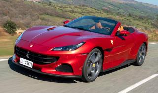 Ferrari Portofino M - front tracking