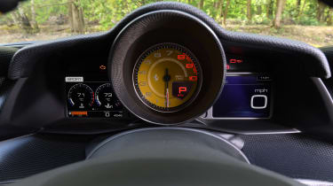 Ferrari 488 Pista - dials