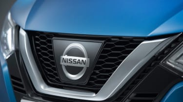 New Nissan Qashqai facelift - grille