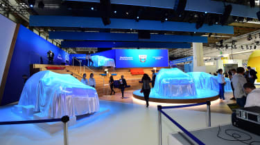 2017 Frankfurt Motor Show - Dacia stand