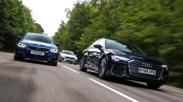 Audi A6 vs BMW 5 Series vs Volvo S90 - Header2