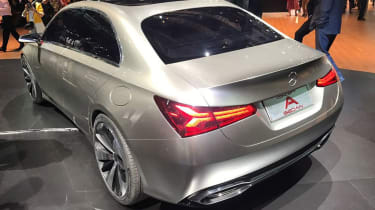 Mercedes concept A rear quarter