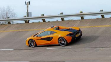 Britain's driverless car network - McLaren 570S