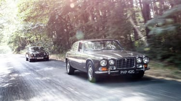 Jaguar XJ years: XJ6, XJ12, XJ40 and XJR 575 driven
