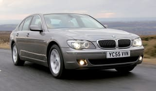 BMW 7 Series front tracking