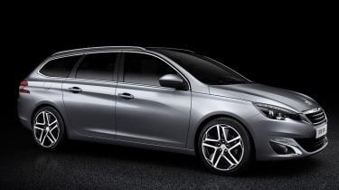 Peugeot 308 SW static profile