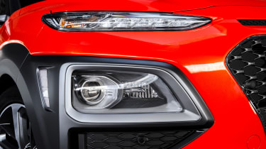 Hyundai Kona diesel - headlight
