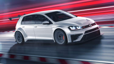 Volkswagen Golf GTI TCR front tracking 2