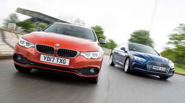 BMW 4 Series vs Audi A5 - header