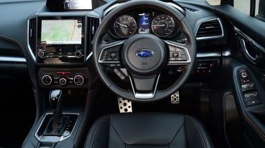Subaru XV - dash