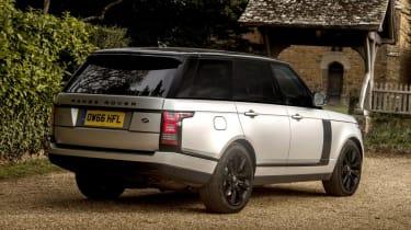 Used Range Rover - rear