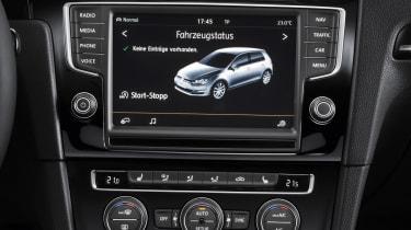 Volkswagen Golf 1.4 TSI display