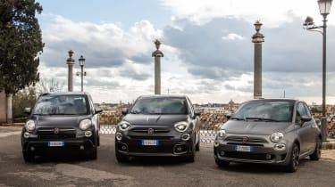 Fiat 2021 range
