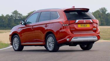 New 2019 Mitsubishi Outlander PHEV static rear