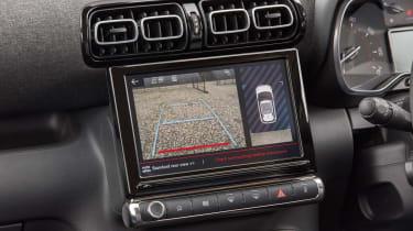 Citroen C3 Aircross facelift - infotainment