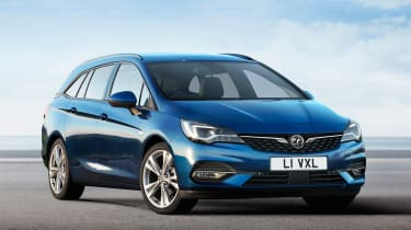 Vauxhall Astra Estate - front static