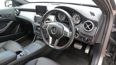 Used Mercedes GLA - interior