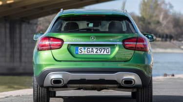 Mercedes GLA 2017 facelift rear static