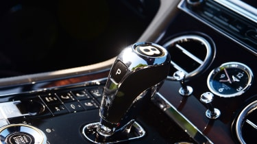Bentley Continental GT Convertible - transmission