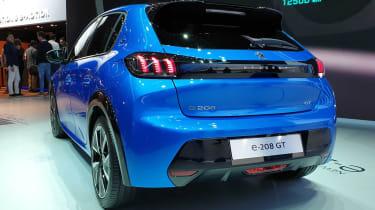 Peugeot e-208 - Geneva rear