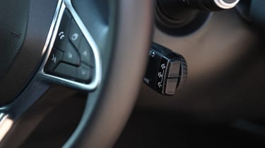 Renault Clio Long termer - steering wheel buttons