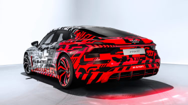 Audi e-tron GT concept rear quarter