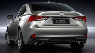 Lexus IS 2016 back