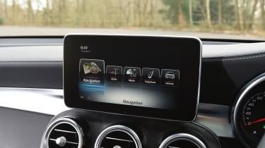 Mercedes GLC 350d 2017 - infotainment