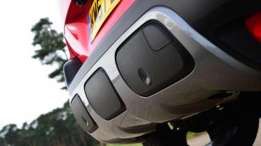 Citroen C3 Aircross - rear detail