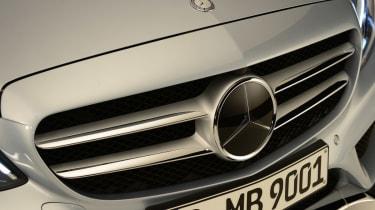 Mercedes C-Class 2014 studio badge front