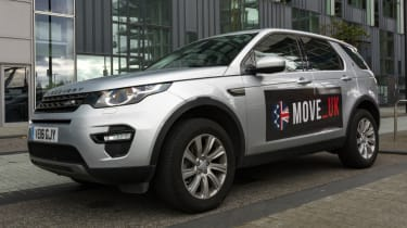 Fast track to self driving - Discovery Sport front