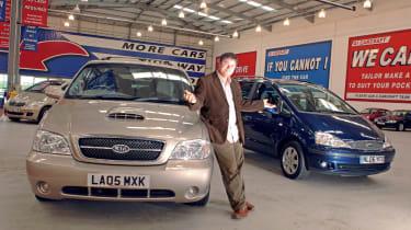 Mike Brewer Ford Galaxy Kia Sedona