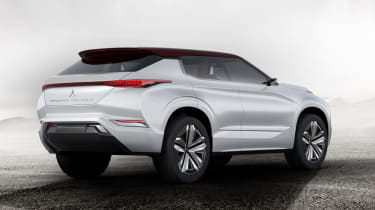 Mitsubishi GT-PHEV Concept rear studio