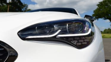 Kia Stinger long-term test: first report - front light