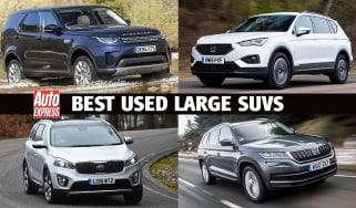 Best used large SUVs header