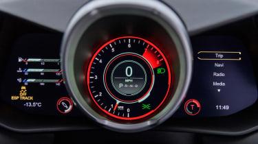 Aston Martin Vantage prototype - dials
