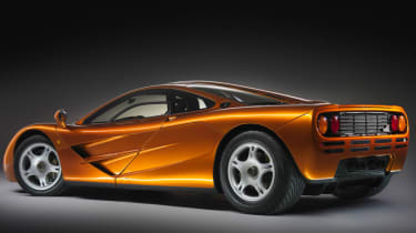 Cool cars: the top 10 coolest cars - McLaren F1 rear