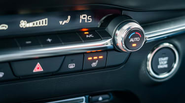 Mazda 3 - interior detail