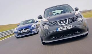 Nissan Juke-R vs GT-R header