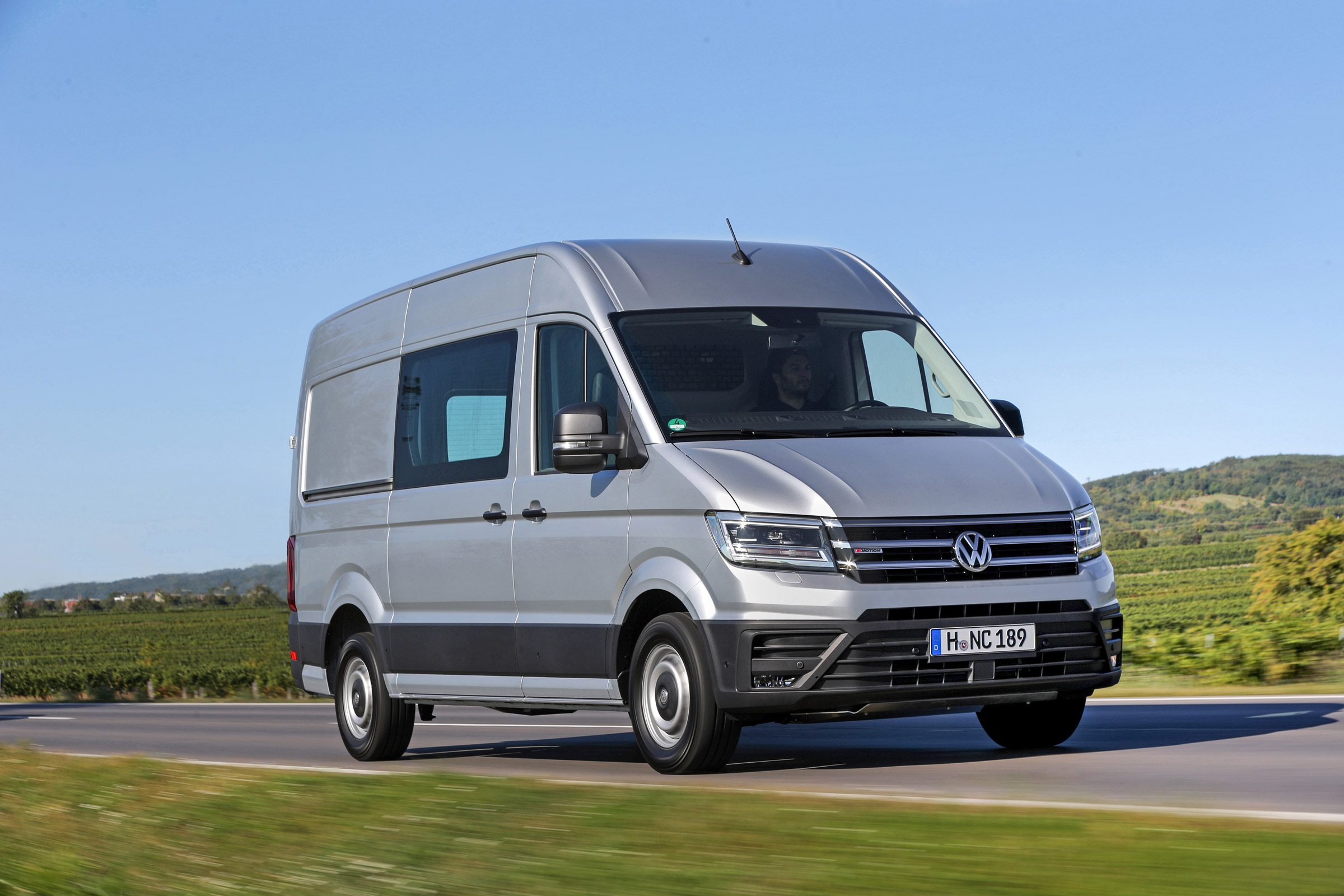 Volkswagen Crafter 4motion Review Auto Express