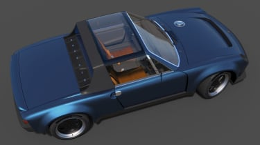 Porsche 914 reimagined - top