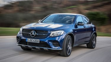 Mercedes-AMG GLC 43 Coupe front tracking