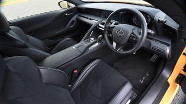 Lexus LC - dash