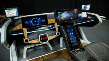 Bosch concept at CES 2017 - dashboard