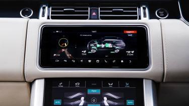 Range Rover PHEV - infotainment