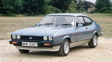 Best cars of the 80s: Ford Capri