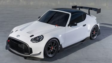 Toyota S-FR Racing Concept - front three quarter